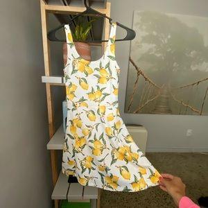 Cotton Lemon Dress
